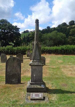 Grave of Richard Munslow, Sin Eater, and his family